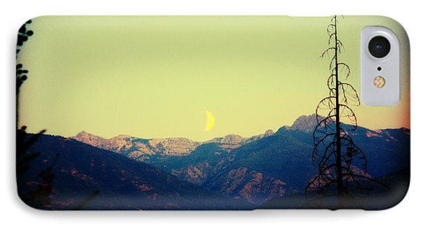 Cabinet Mountain Moon IPhone Case by Brent Sisson