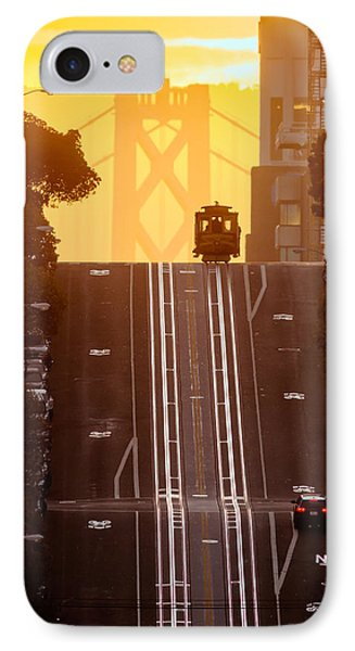 Cable Car IPhone Case by David Yu