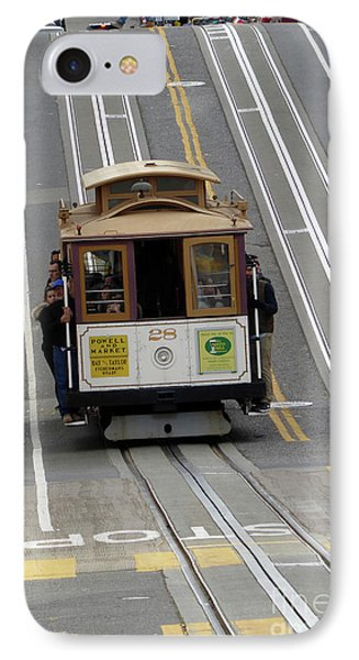 Cable Car IPhone Case by Steven Spak