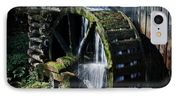 IPhone Case featuring the photograph Cable Mill Water Wheel by Douglas Stucky
