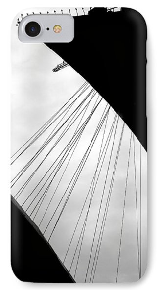 IPhone Case featuring the photograph Cables And Funes by Valentino Visentini