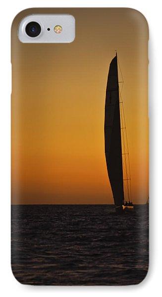 Cabo Sailboat Sunset IPhone Case