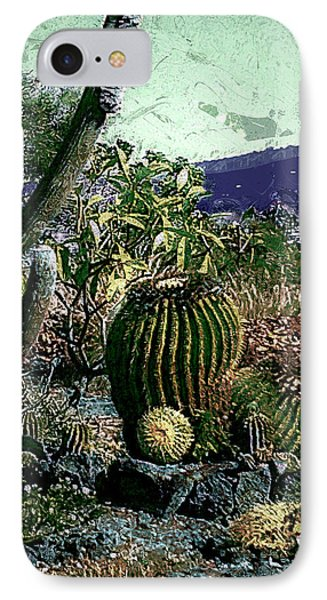 IPhone Case featuring the photograph Cacti by Lori Seaman