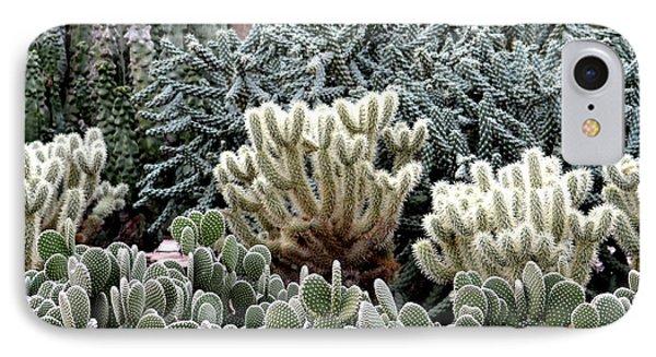 Cactus Field Phone Case by Rebecca Margraf