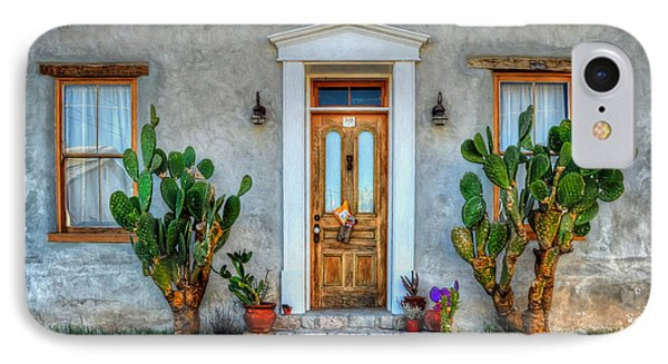 IPhone Case featuring the photograph Cactus Guards by Ken Smith