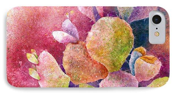 Cactus Heart IPhone Case by Hailey E Herrera