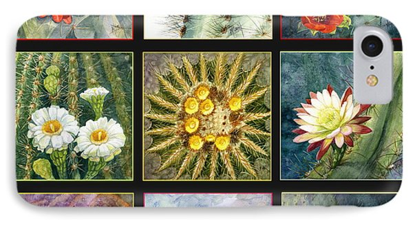 IPhone Case featuring the painting Cactus Series by Marilyn Smith