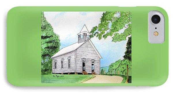 Cades Cove Church IPhone Case by Lynn Ingram