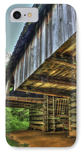 Cades Cover Cantilever Barn 2 IPhone Case