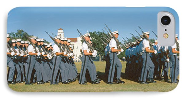 Cadet Review, The Citadel, Charleston IPhone Case by Panoramic Images