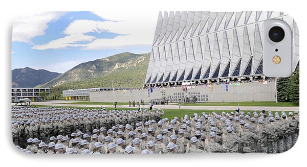 Cadets Recite The Oath Of Allegiance Phone Case by Stocktrek Images