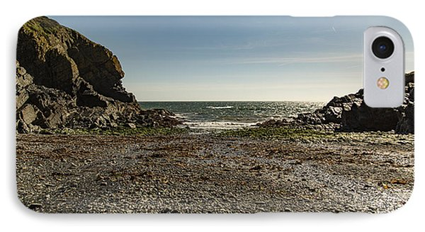 IPhone Case featuring the photograph Cadgwith Cove Beach by Brian Roscorla