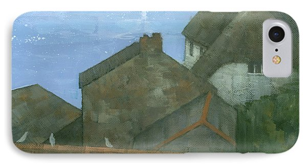Cadgwith Rooftops Phone Case by Steve Mitchell