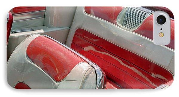 Cadillac El Dorado 1958 Seats. Miami IPhone Case by Juan Carlos Ferro Duque
