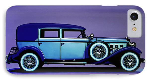 Cadillac V16 1930 Painting IPhone Case