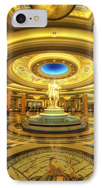 Caesar's Grand Lobby Phone Case by Yhun Suarez