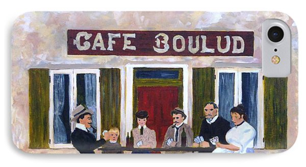 Cafe Boulud IPhone Case by Diane Arlitt
