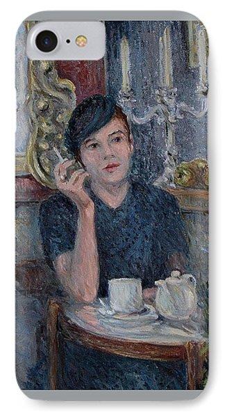 Cafe De Paris  IPhone Case by Pierre Van Dijk