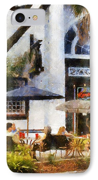 IPhone Case featuring the digital art Cafe by Francesa Miller