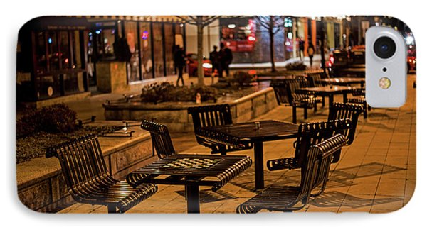 Cafe Luna Central Square Cambridge Ma IPhone Case by Toby McGuire