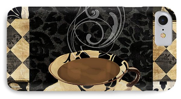 Cafe Noir IIi IPhone Case by Mindy Sommers