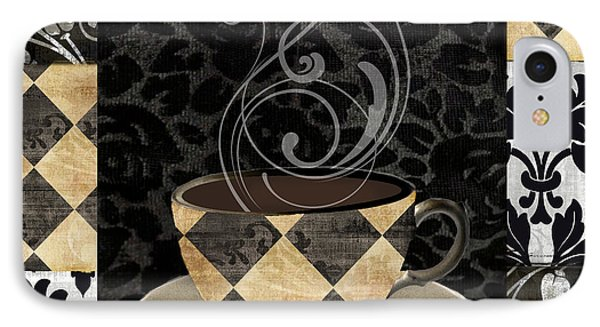 Cafe Noir Iv IPhone Case by Mindy Sommers