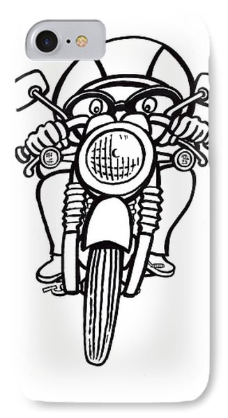 Cafe Racer 2 IPhone Case by Scott Nelson