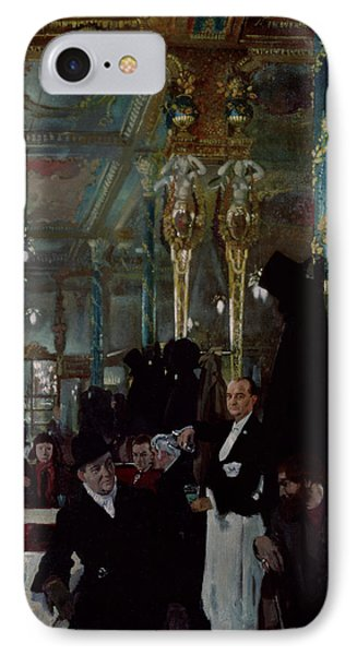 Cafe Royal, London, 1912 IPhone Case