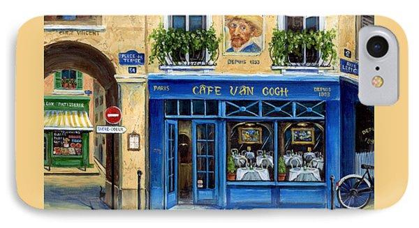 Cafe Van Gogh II IPhone Case by Marilyn Dunlap