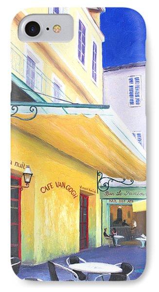 Cafe Van Gogh IPhone Case by Jan Matson
