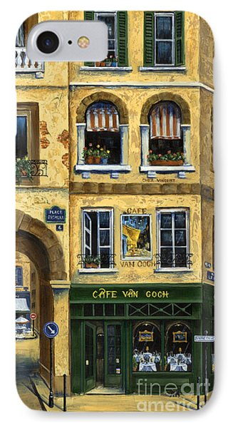 Cafe Van Gogh Paris Phone Case by Marilyn Dunlap
