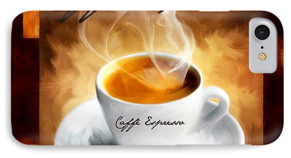 Caffe Espresso IPhone Case by Lourry Legarde