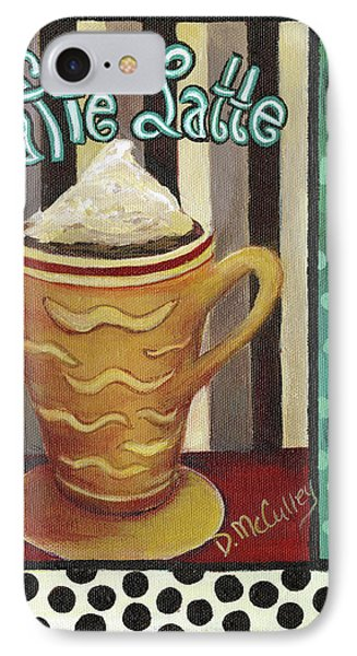 Caffe Latte IPhone Case by Debbie McCulley