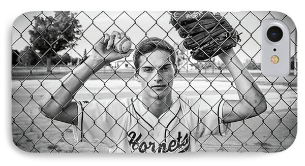 IPhone 7 Case featuring the photograph Caged Competitor by Bill Pevlor