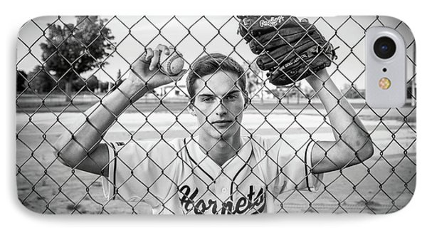 IPhone Case featuring the photograph Caged Competitor by Bill Pevlor