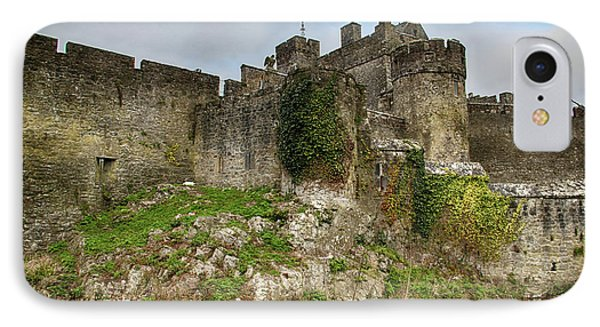IPhone Case featuring the photograph Cahir Castle by Marie Leslie