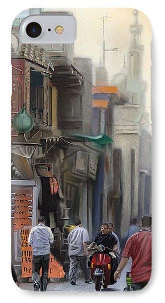 Cairo Street Market IPhone Case