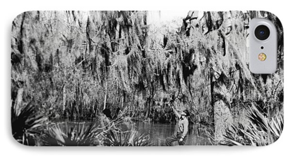Cajuns Collecting Moss IPhone Case