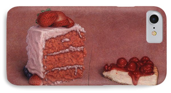 Cakefrontation IPhone Case by James W Johnson