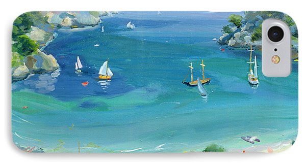 Cala Galdana - Minorca IPhone Case by Anne Durham