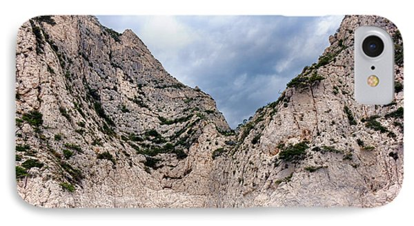 Calanque Art IPhone Case by Olivier Le Queinec
