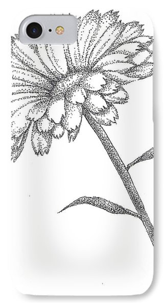 Calendula Phone Case by Christy Beckwith