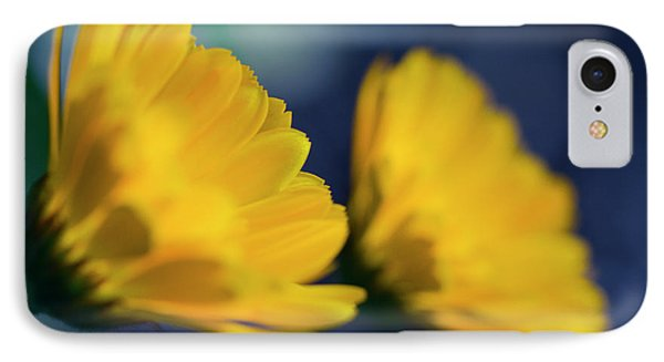 IPhone Case featuring the photograph Calendula Flowers by Sharon Mau