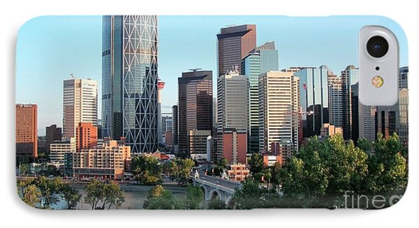 Calgary 2 IPhone Case by Victor K