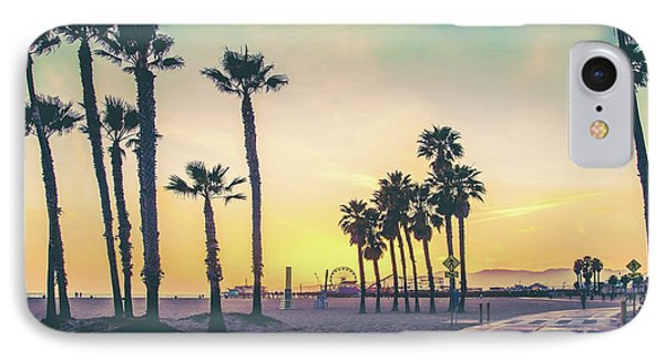 Cali Sunset IPhone 7 Case by Az Jackson