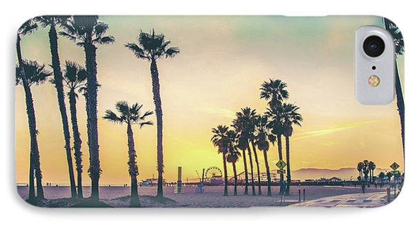 Cali Sunset IPhone Case by Az Jackson