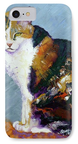Calico Buddy IPhone Case