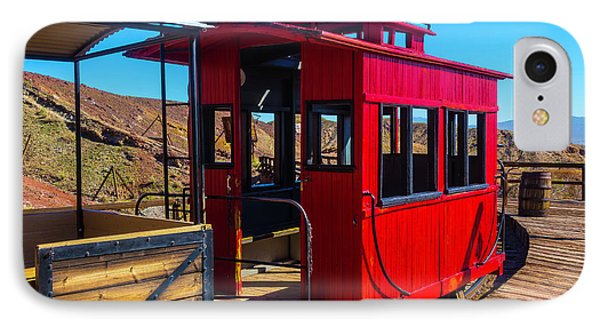 Calico Caboose IPhone Case by Garry Gay