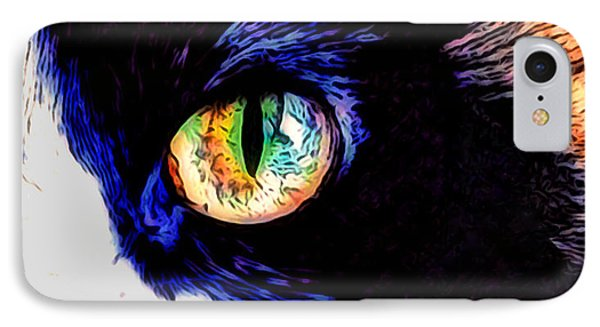 Calico Cat IPhone Case by Kathy Kelly