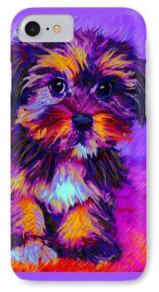 Calico Dog IPhone Case by Jane Schnetlage
